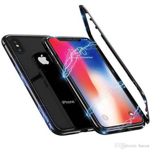 ad2cc704421 Funda iphone 6s 7 8 plus x xs max xr aluminio magnetica meta