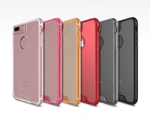 e9cc1c28e48 Funda protector contra golpes iphone 6 7 x y plus +mica te