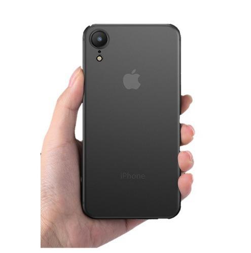 Funda protectora case jelly slim elegante iphone xr xs max