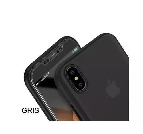 Funda protectora case jelly thin slim elegant iphone x 10 xs