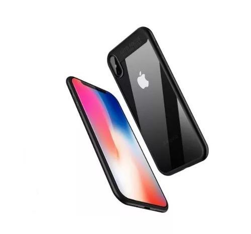 Funda protectora case slim lujo elegante iphone x 10 / xs en