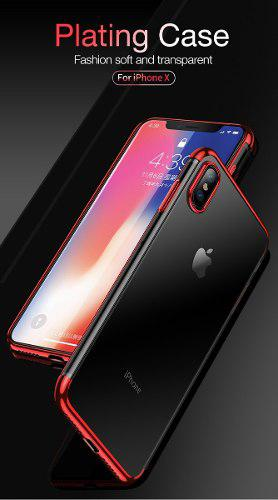 Funda protectora case slim lujo elegante iphone x xr xs max