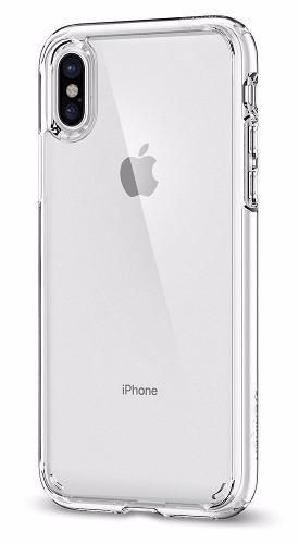 Funda protectora clear case transparente iphone x / xs