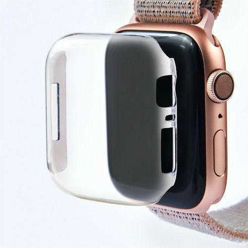 Funda protectora de tpu para apple watch serie 4 40 y 44 mm