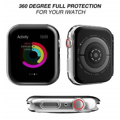Funda protectora de tpu para apple watch series 4 40 y 44 mm