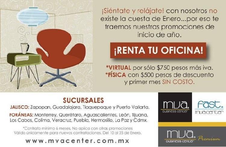 OFICINA VIRTUAL CON DOMICILIO FISCAL EN $750.00 MXN