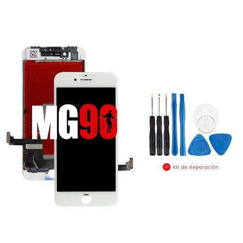 Pantalla display apple iphone 8 blanco y negro + regalos