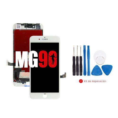 Pantalla display apple iphone 8 plus blanco y negro + kit