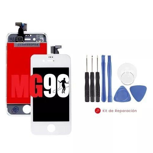 Pantalla display iphone 4s negro original blanco + kit