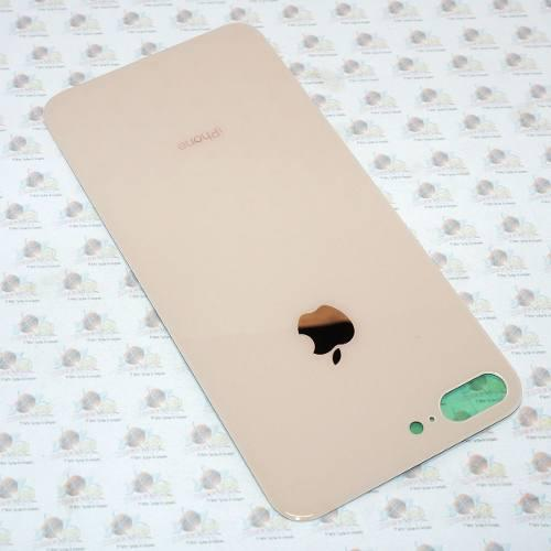 Refaccion Tapa Trasera Cristal + Adhesivo Iphone 8 Plus Gold