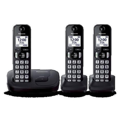 Telefono inalambrico panasonic kx tgd213 altavoz dect6.0
