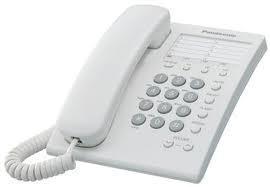 Teléfono alambrico panasonic 13 memorias kxts550 bco o ngo