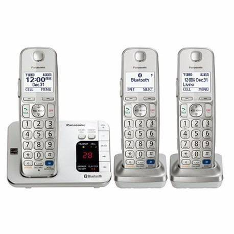 Teléfono inalámbrico panasonic kx tge263 bluetooth dect