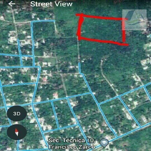 Terreno en Venta en Leona Vicario Quintana Roo / Land for