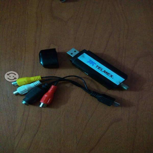 USB para ver TV HD y capturadora de video