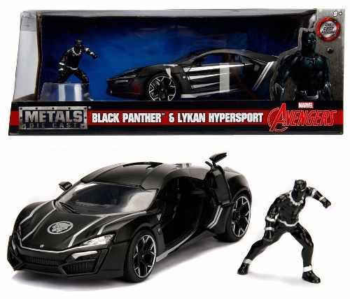 Black panther lykan hypersport jada 1:24 oferta