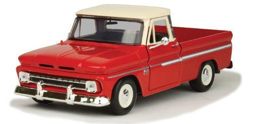 Chevrolet c-10 fleetside pickup 1966 (2 ton) motor max 1:24