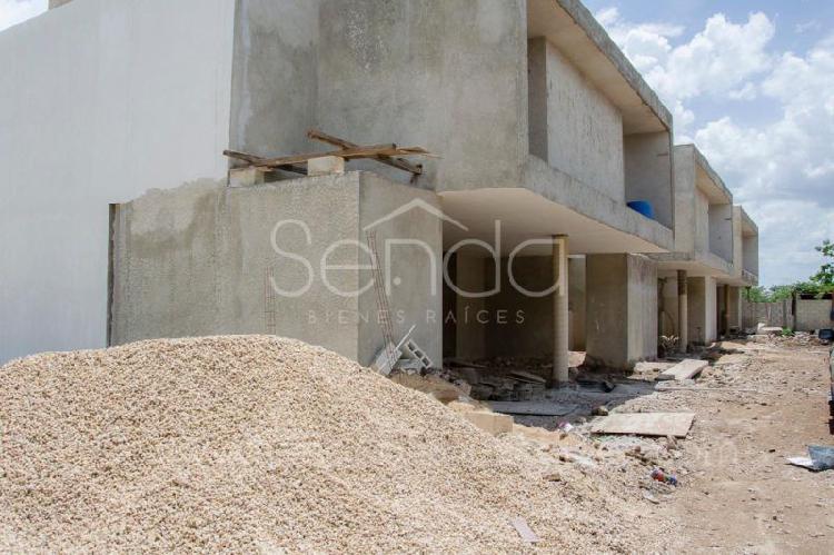 Exclusivos townhouses de 3 habitaciones en venta en Temozón