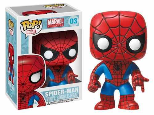 Figura coleccionable funko pop marvel spiderman #03