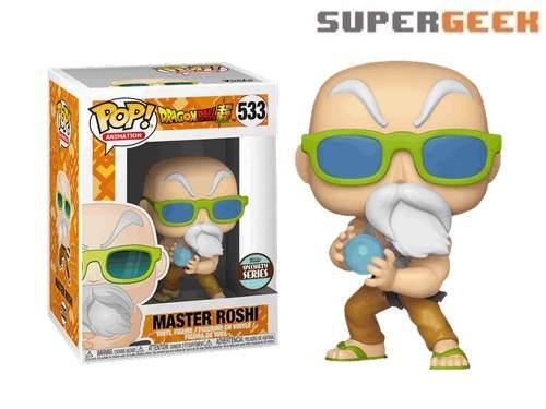 Funko pop - maestro roshi poder maximo dragon ball z (1)