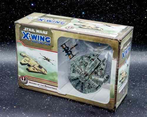 Heroes of the resistance xwing miniatures