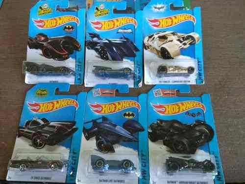 Hot wheels colección batman 6 piezas
