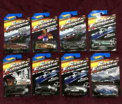 Hot wheels rápidos y furiosos 2015 colección