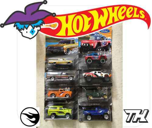 Hotwheels 2018 colección completa ford truck series 8