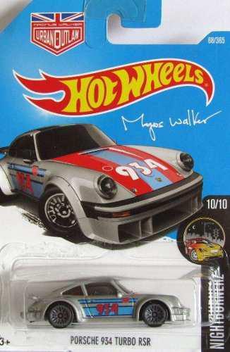 Hotwheels porsche 934 turbo rsr #68 2017