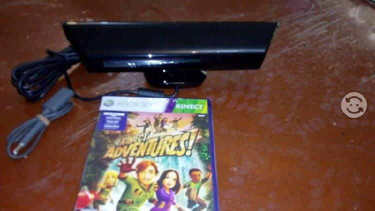 Kinect Xbox 360 nuevo con juego adventure