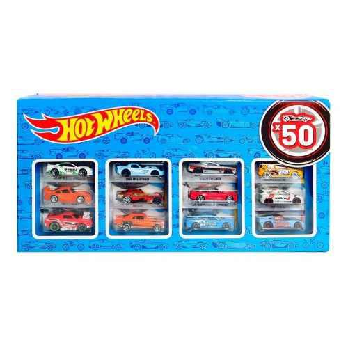 Set de 50 carros hotwheels colección juguetes envio gratis