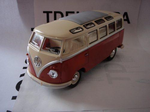 Vw combi 1962 esc: 1/24 kinsmart autos escala coleccion