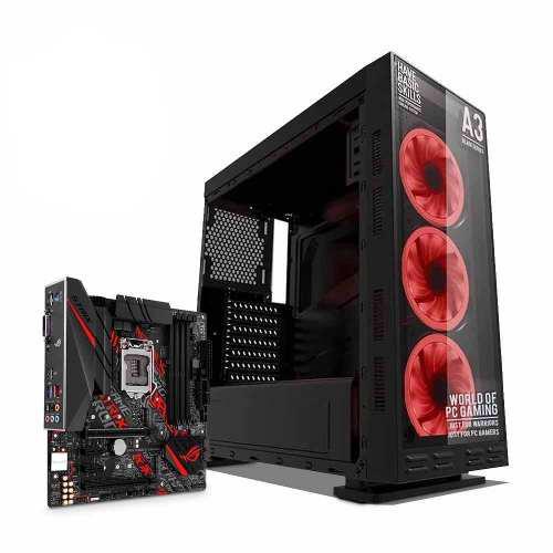 Computadora pc intel core i3 8va 500gb 8gb asus rog strix