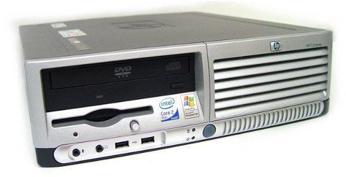 Computadoras baratas hp 4gb ram + lcd 15 intel a 3.44 ghz