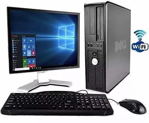 Computadoras completas 4gb ram, 160 hd lcd 17 y wifi