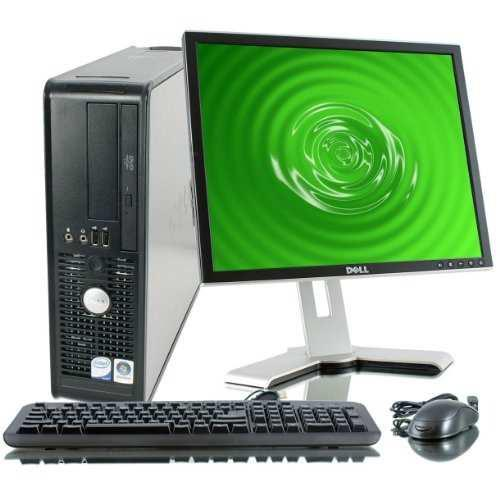 Dell optiplex intel core duo 1800 mhz, 80gig serial ata hdd,