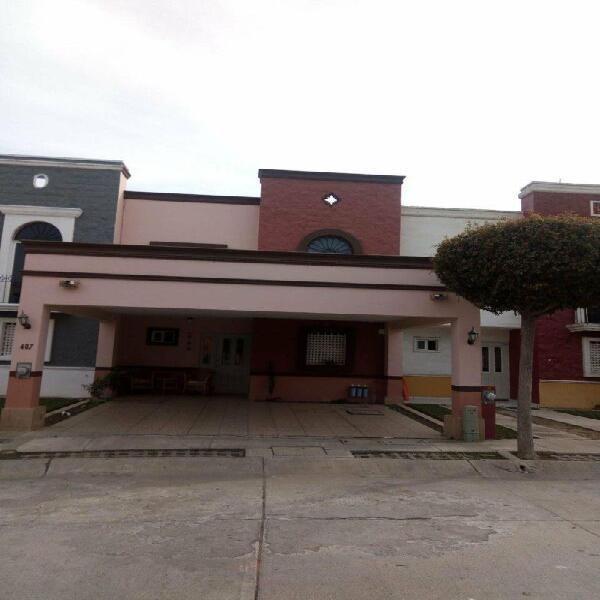 Casa en venta en mazatlán de 3 recámaras en fracc. privado