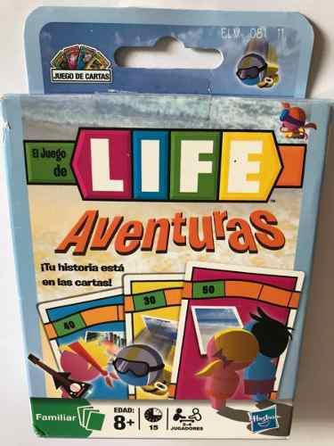 Juego de cartas life aventuras original hasbro