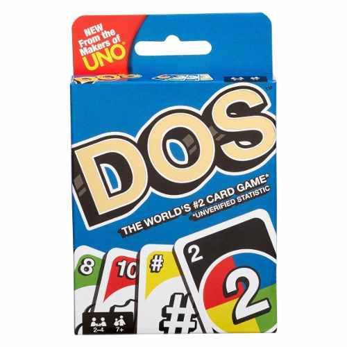 Juego de cartas mattel uno dos nuevo sellado envío gratis