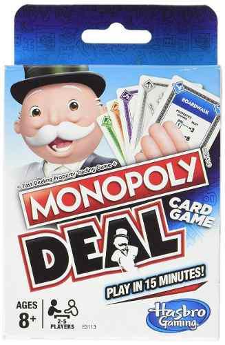 Juego de cartas monopoly deal en inglés envío gratis