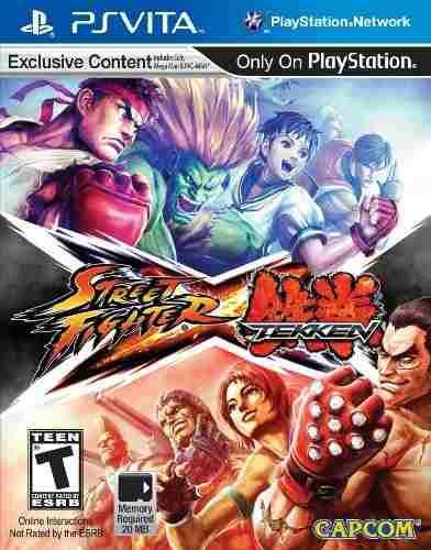 Juegos,street fighter x tekken - playstation vita