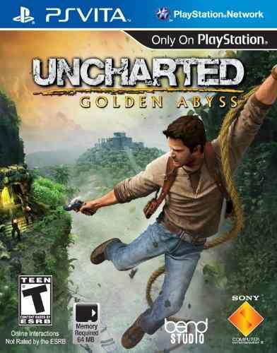 Juegos,uncharted golden abyss - playstation vita