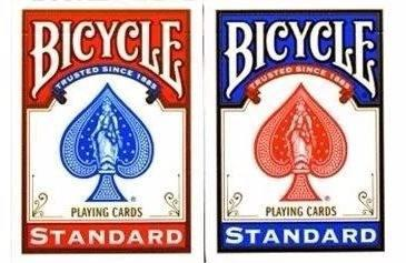 Mazo de cartas póker bicycle roja o azul nuevo, sellado