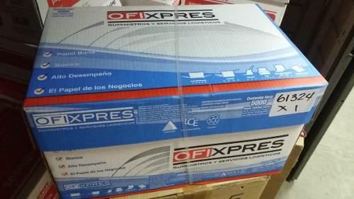Papel bond tamaño carta blanco caja 5000 hojas