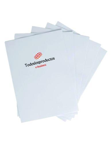 Papel fotografico brillante 260g resina doble carta 60 hojas