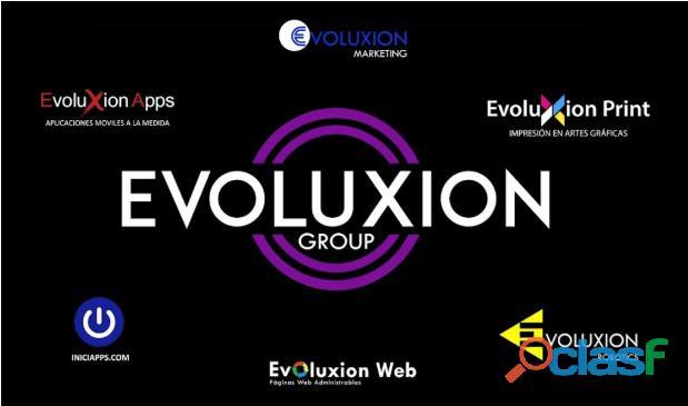 Casa de software, diseño y desarrollo de páginas web/ aplicaciones móviles, manejo de redes sociales