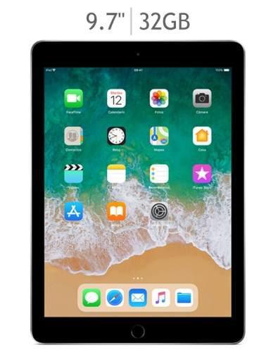 Apple ipad 9.7 32gb 6ta generación wifi gris espacial nueva