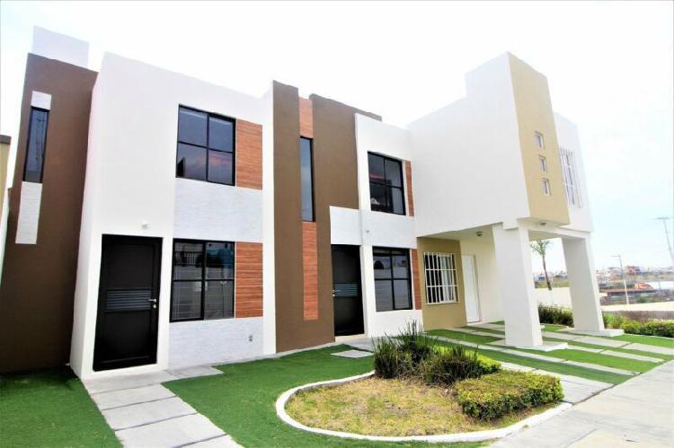 Casa nueva 2 pisos 2 recamaras muy cerca de paseo queretaro