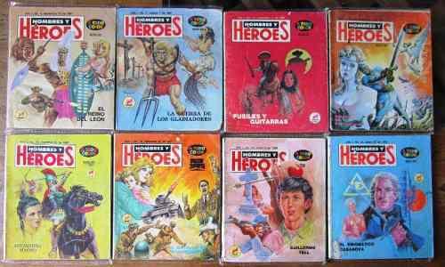 Hombres y heroes edit. novedades primera epoca 82 numeros