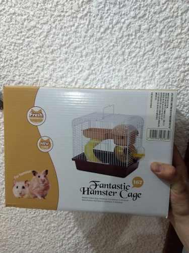 Jaula hamster san francisco ii 27x20.5x25.5 envio gratis